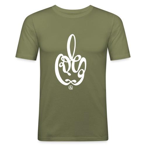 fuck you - T-shirt près du corps Homme