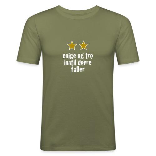 Inntil Dovre Faller - Slim Fit T-skjorte for menn