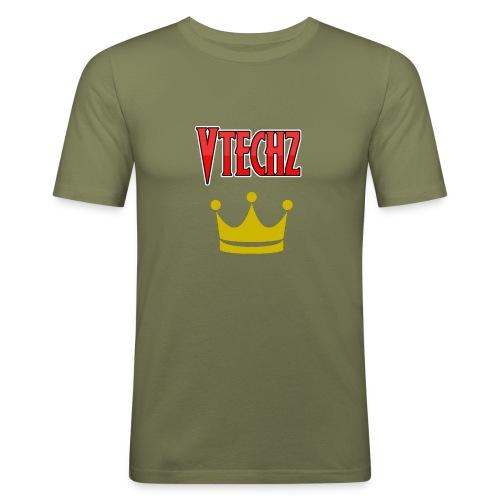 Vtechz King - Men's Slim Fit T-Shirt