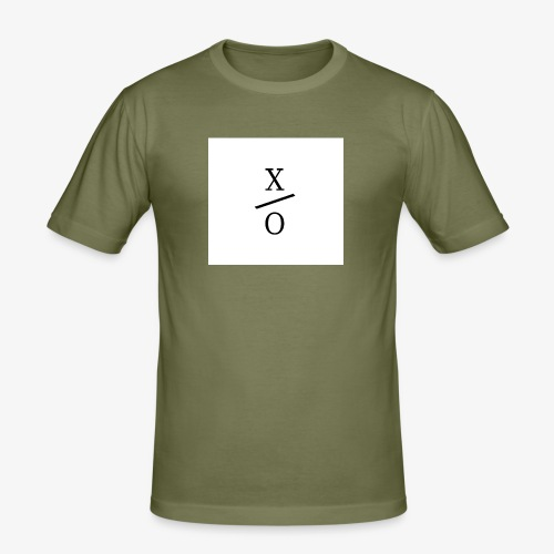 X/0 logo square - Slim Fit T-shirt herr