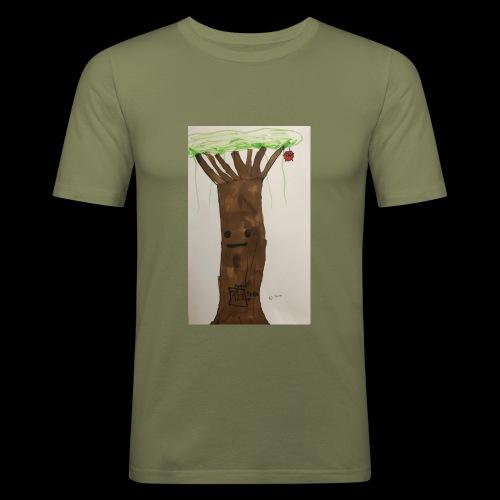 1 2 3 BY TAiTO - Miesten tyköistuva t-paita