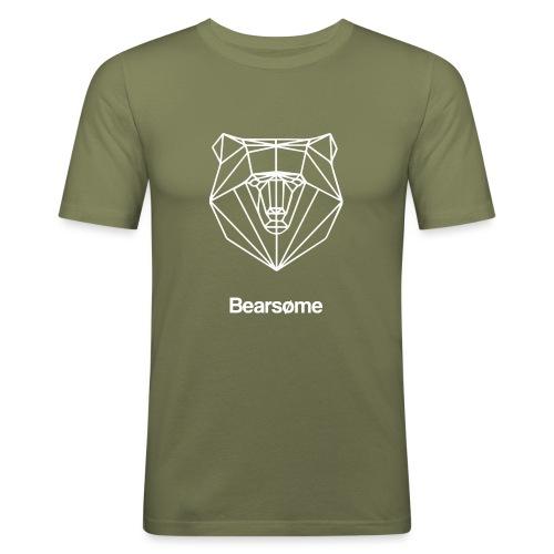 Bearsøme Hoodie - Mannen slim fit T-shirt