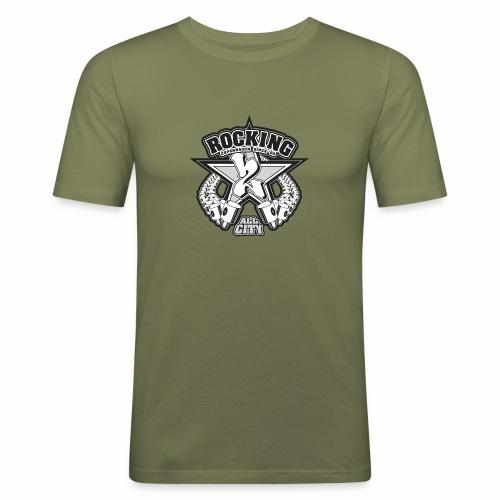 rocking copenhagen 2wear since 00 ver01 - Herre Slim Fit T-Shirt