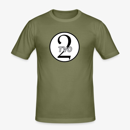 TVO2 - Slim Fit T-shirt herr