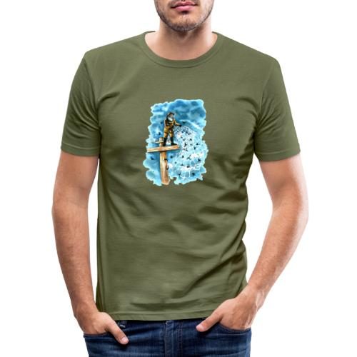 after the storm - Men's Slim Fit T-Shirt