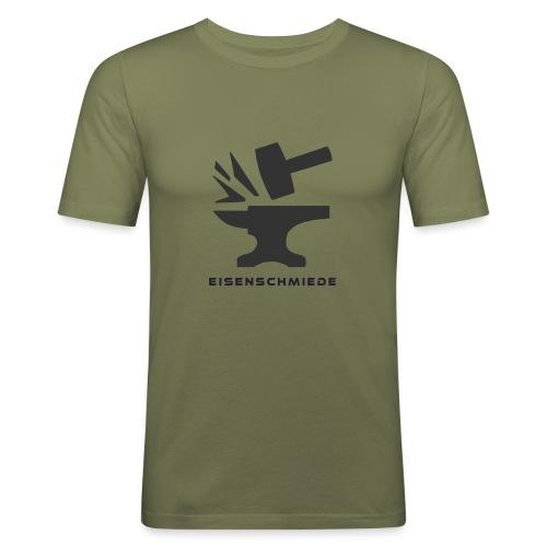 eisenschmiede winter - Männer Slim Fit T-Shirt