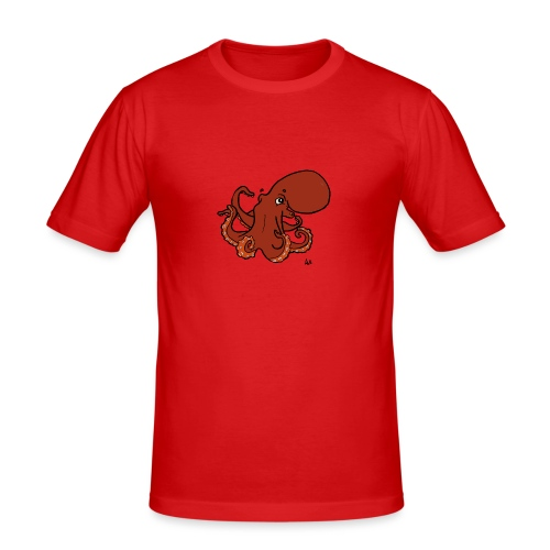 Giant Pacific Octopus - Men's Slim Fit T-Shirt