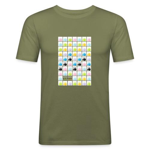 nomde1 - Camiseta ajustada hombre