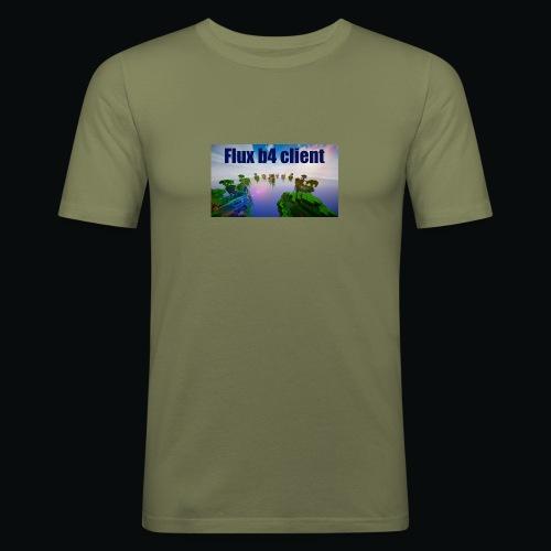 Flux b4 client shirt - Slim Fit T-shirt herr