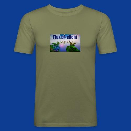 Flux b4 client Shirt - Men's Slim Fit T-Shirt