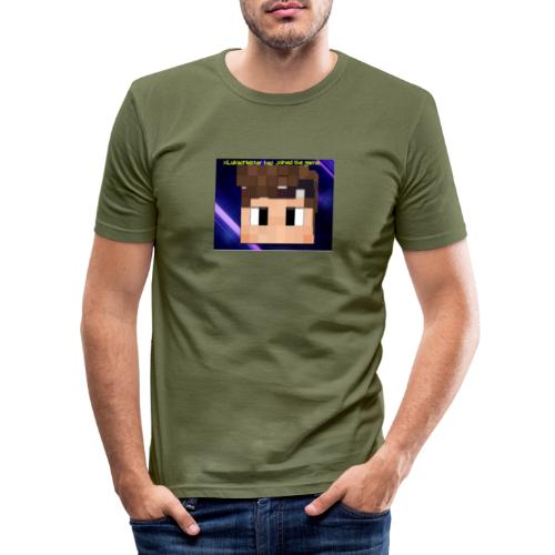 xxkyllingxx Nye twitch logo - Herre Slim Fit T-Shirt