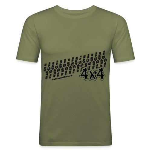 Bodenfreiheit - Männer Slim Fit T-Shirt