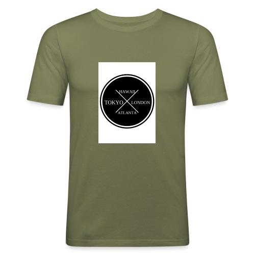 Four City Design - Men's Slim Fit T-Shirt