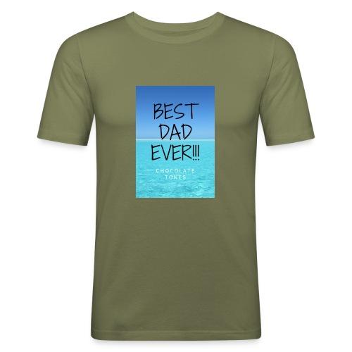 El Mejor papá - Camiseta ajustada hombre