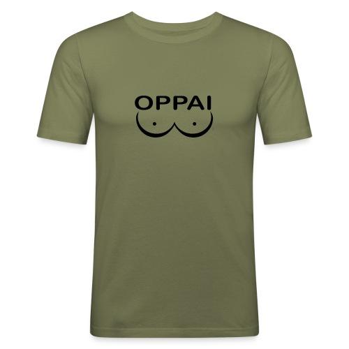 oppai - T-shirt près du corps Homme