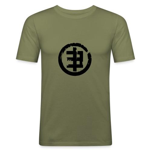 Eschberg Logo - Männer Slim Fit T-Shirt