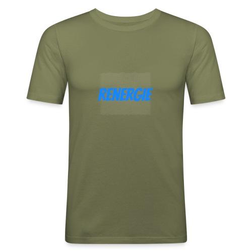 cap renergie - Mannen slim fit T-shirt