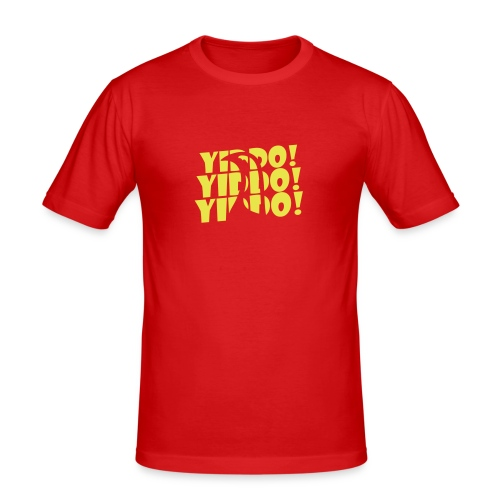 yiddo cockerel - Men's Slim Fit T-Shirt