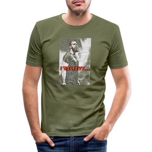 18561959 BEDF 45CA 8B9E E9133B9108D9 - Herre Slim Fit T-Shirt
