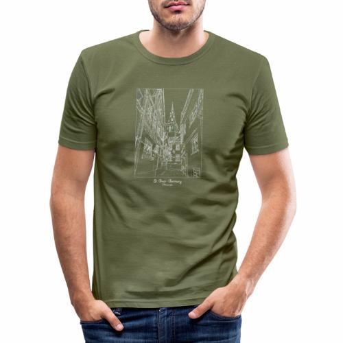St. Goar – Stiftskirche Oberstraße - Männer Slim Fit T-Shirt