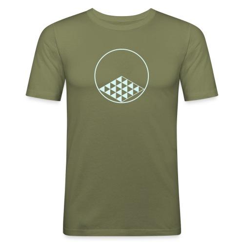 CropCircle Blackhorselane 2015 - Männer Slim Fit T-Shirt
