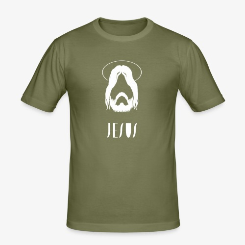 jesus - Men's Slim Fit T-Shirt