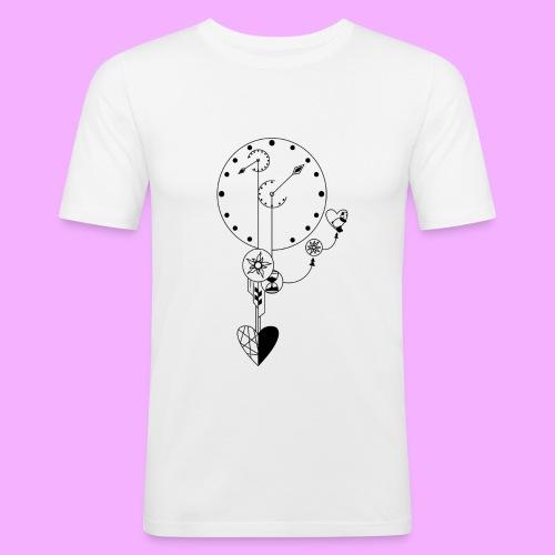 L'amour - T-shirt près du corps Homme