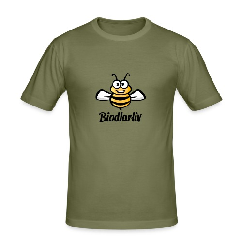 Biodlarliv - Slim Fit T-shirt herr