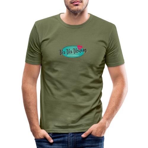vavavoom logo 330v760 - Herre Slim Fit T-Shirt