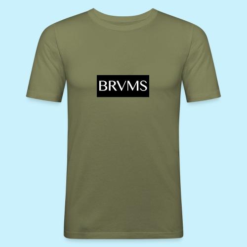 BRVMS - T-shirt près du corps Homme
