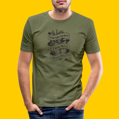 Lost heart (En hyllning till The Dear Hunter) - Slim Fit T-shirt herr