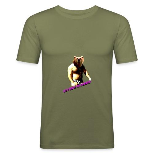 summer png - Camiseta ajustada hombre