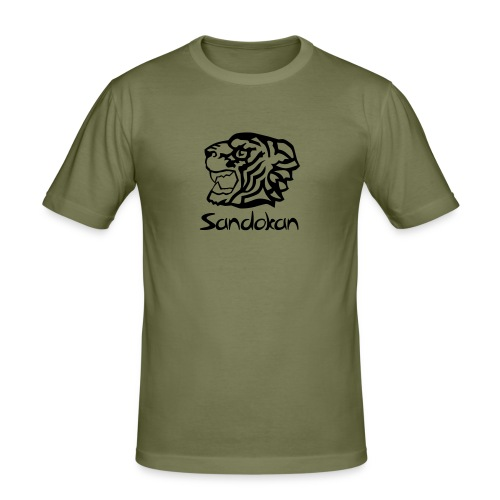 sandokan - Männer Slim Fit T-Shirt