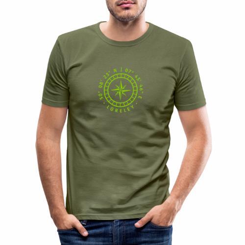 Kompass – Loreley - Männer Slim Fit T-Shirt