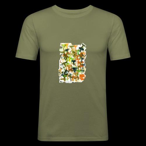 Autumn T BY TAiTO - Miesten tyköistuva t-paita