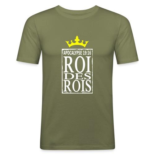 rdrWhite RefOver CrownYel - T-shirt près du corps Homme