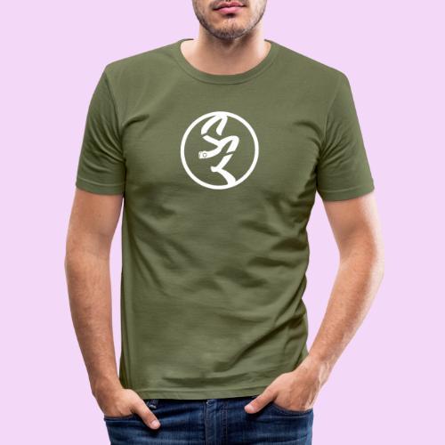 StudioLara Logo - Mannen slim fit T-shirt