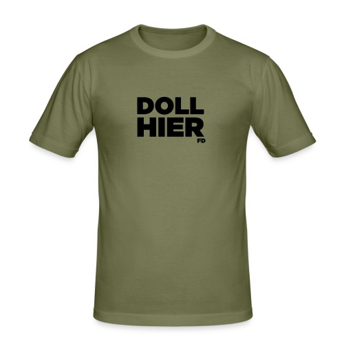 dollhier - Männer Slim Fit T-Shirt