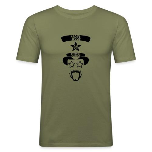 westonsunset_head - Men's Slim Fit T-Shirt