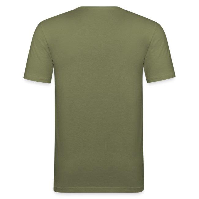 Vorschau: n scheixxx muss ich - Männer Slim Fit T-Shirt