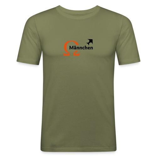 Omega-Männchen - Männer Slim Fit T-Shirt