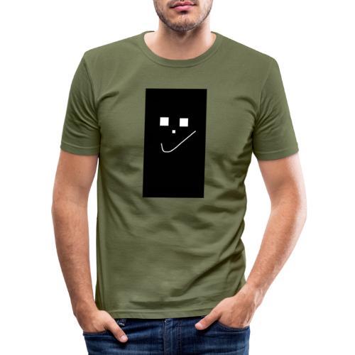 Smile :) - Männer Slim Fit T-Shirt