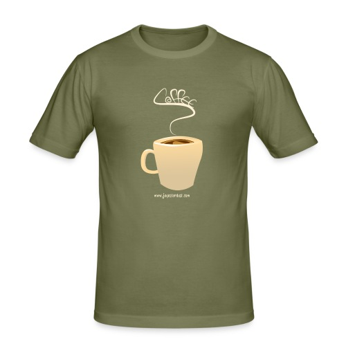 Coffee - Men's Slim Fit T-Shirt