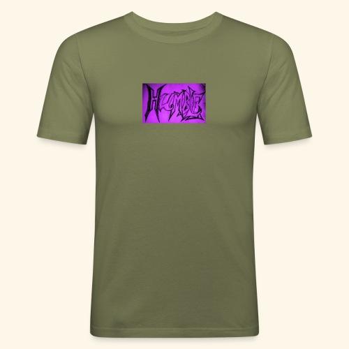 HUMBLE PURPLE - Men's Slim Fit T-Shirt