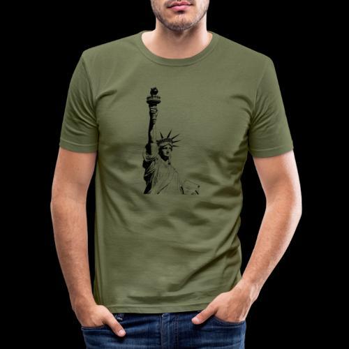 Freedom - Männer Slim Fit T-Shirt