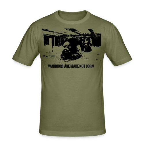 001w2 - Slim Fit T-shirt herr