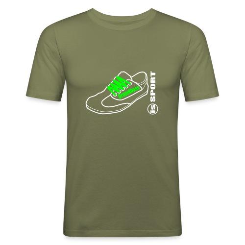 DrumNbass is Sport - Männer Slim Fit T-Shirt