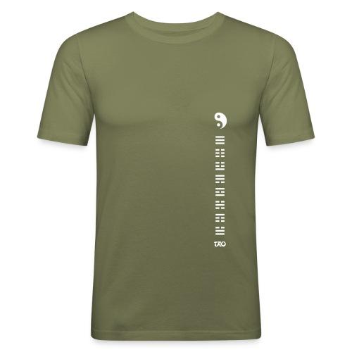 Hexagrammes et Yin yang - T-shirt près du corps Homme