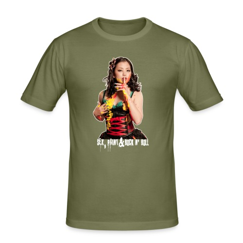 mana sprnr - Men's Slim Fit T-Shirt