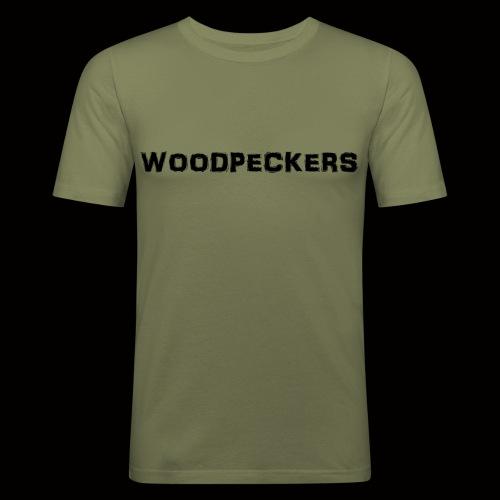 woodpeckers - Männer Slim Fit T-Shirt